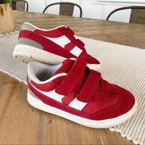 Cat & Jack | red and white toddler sneakers